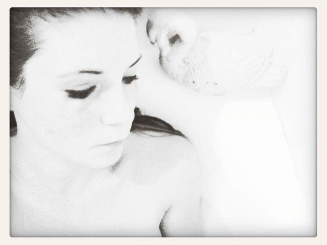 Black&white Ombre Et Lumière Bathroom Sad :(