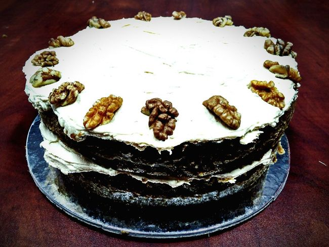 Cakes Sweet Food Dessert Indulgence Temptation Food And Drink Cake No People Ready-to-eat Food Baking Freshness Happytimes Walnuts Coffee Cake
