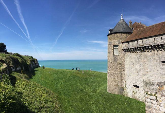 Castle Sea Dieppe Normandie Normandie Normandy Tower Tour