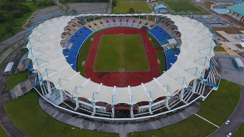Aerial View Architecture Building Architecture Evening Light No People Outdoors Sport Stadium