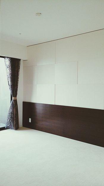 Architecture 仕事 昨日納品した家具 その4 ベッドヘッドボード 上部壁面パネル Designs Bedroom Wall #bedroom