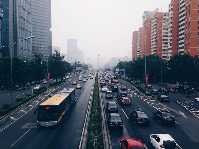 Traffic Traveling In China Travel Photography