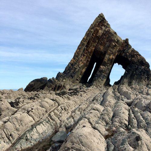 Rock Arch Tectonic Natural Drama Geology Rocks