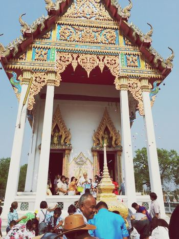 Spotted In Thailand Ordination Thai Thai Temple Thai Tradition Thai Style Happy Time Memory Ever Greatful  Upcountry Lopburi Thailandtravel Thailand Temple Special Moment
