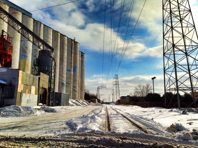 Minneapolis Cityscapes Afternoon Blues Sky And Clouds Clouds And Sky Hiawatha Corridor Urban Photography Industrial Photography Industrial Landscapes Hiawatha Avenue