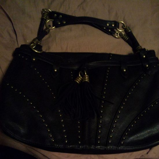 I have no idea why im obsessed with this purse but its mine now! Jessicasimpson Purses Black Dillards