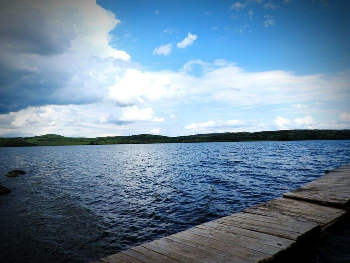 Altaiski Krai Nature Russian Kolyvan White Lake Water Blue Summer