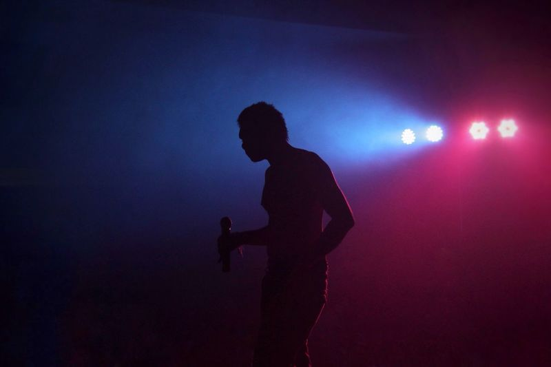 People And Places Musician Music Light And Shadow Light Colors Illuminated Electric Light Concert