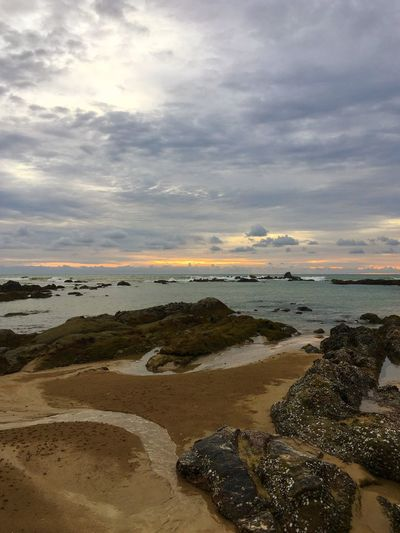 Khao Lak Andaman Sea Travel Photography Travel Destinations Travel Khao Lak Thailand Water Sea Land Sky Beach Cloud - Sky Scenics - Nature Nature Beauty In Nature Sand Tranquility Horizon Tranquil Scene Sunset Horizon Over Water Outdoors No People Rock Solid Low Tide
