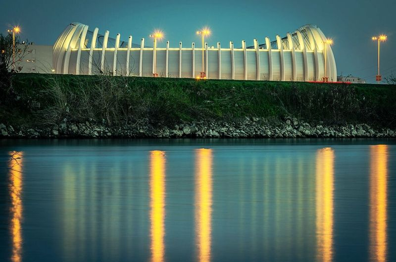 Zagreb Arena River Water
