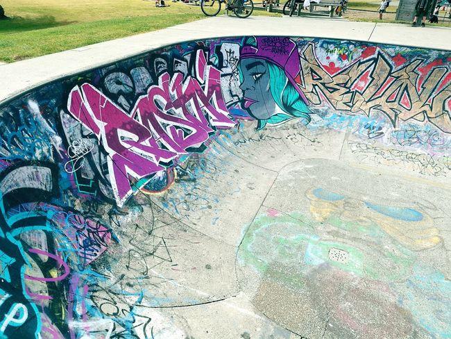 Graffiti Street Art Spray Paint Outdoors Skate Skatepark Skatebowl Raglan Raglan Nz