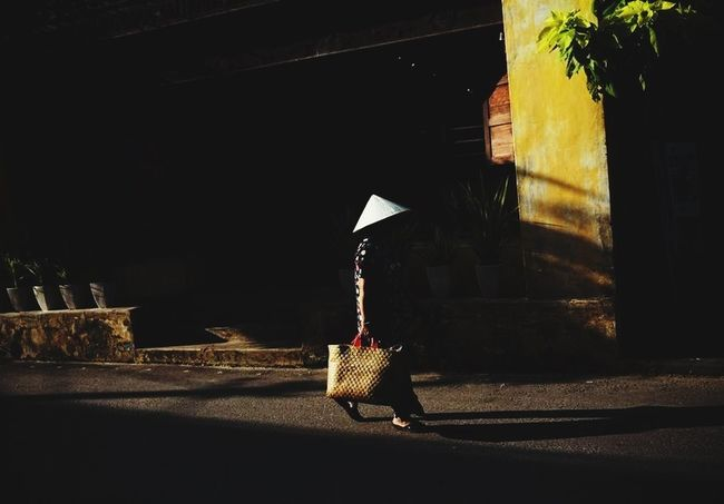 Streetphotography Light And Shadow Hoian  Ontheroad