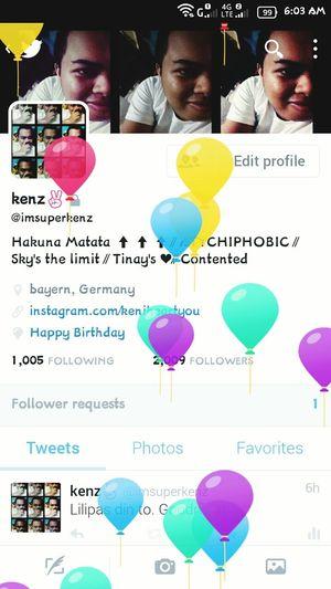 Yay. Ang cute nung mga balloons!!! 🎈🎈🎈 HappyBirthdayToMe Newlife