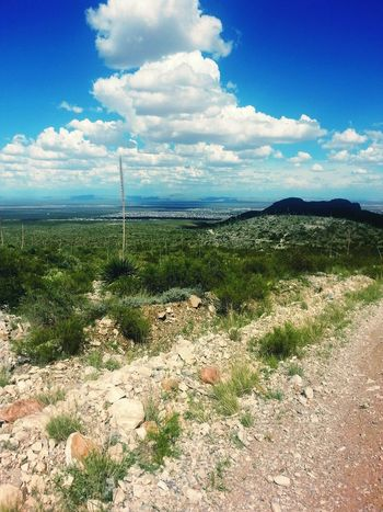 In The Desert Desert Beauty Elpaso Hiking Trail Explore Your City Exploring Nature Clouds And Sky Franklin Mountains El Paso Deserts Around The World