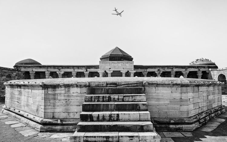 This image is part of my ongoing project covering the last resting places of Delhi Sultanate. Delhi Sultanate Delhi Sultanate Tomb Tomb, Monochrome Travel Grave City Sky Architecture Built Structure Historic Civilization