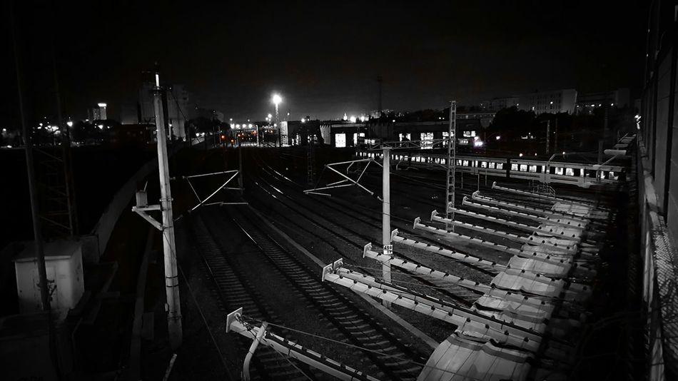 Galaxys6 Train Night Urban