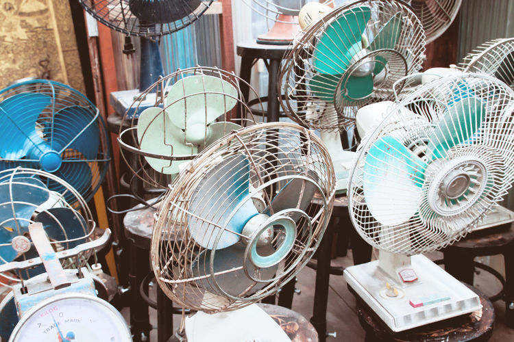 Electric Fans In Market For Sale