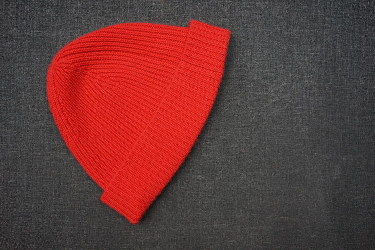 Close-up of red heart shape over black background