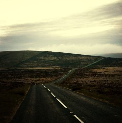 on the bike out over saddleworth
