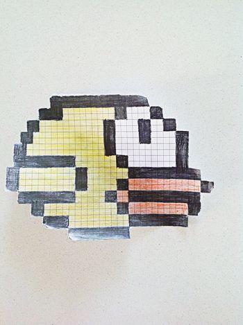 Flappy Bird My Art <3 Paper Art