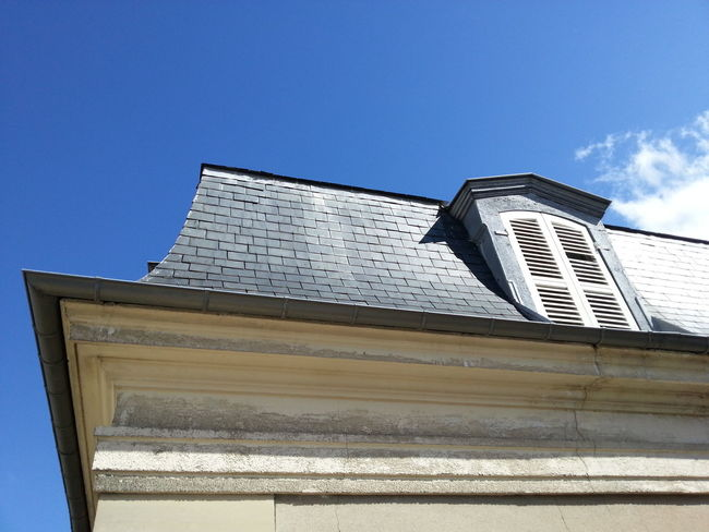Roof Toit Saint Germain En Laye Ciel Bleu Architecture