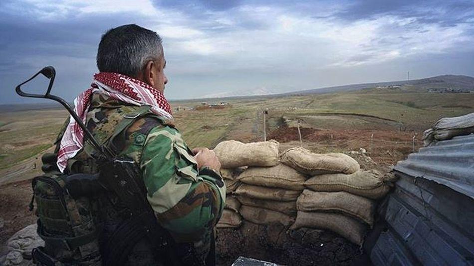 Mosul Border With Hero Peshmerga Mosul Peshmerga Kurdistan Naweran Photooftheday War Freedom