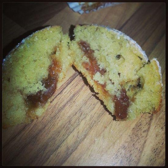 Mincepiechallenge @tescofood Fairycake filled with Mincemeat