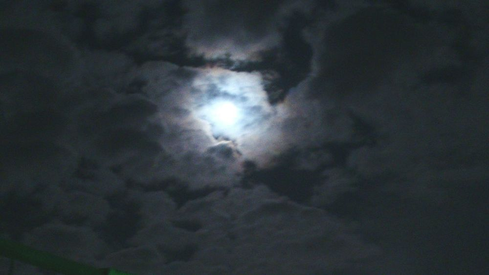 Clouds And Sky Ankara Night