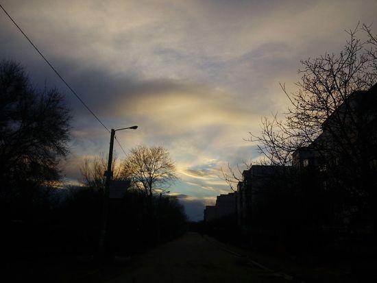 небо⛅️ свобода Sea And Sky закат🌇 новофедоровка Relaxing Nightphotography красиво Crimea Hello World