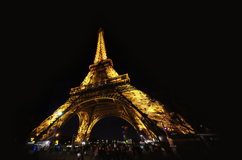Eiffel Tower at night. General view on the Eiffel Tower. Eiffel Tower General View General View Of A Mural Street Art On Wall In Songkhla Province, Thailand Paris Paris, France  View To Eiffel Tower A General View On The Eiffel Tower Eiffeltower Night