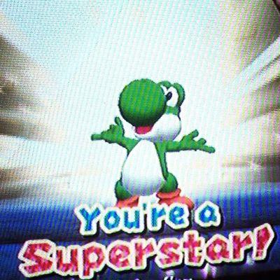 damn straight 🌟🌟🌟 Yoshi Superstar Marioparty Homesick  🌟🌟🌟