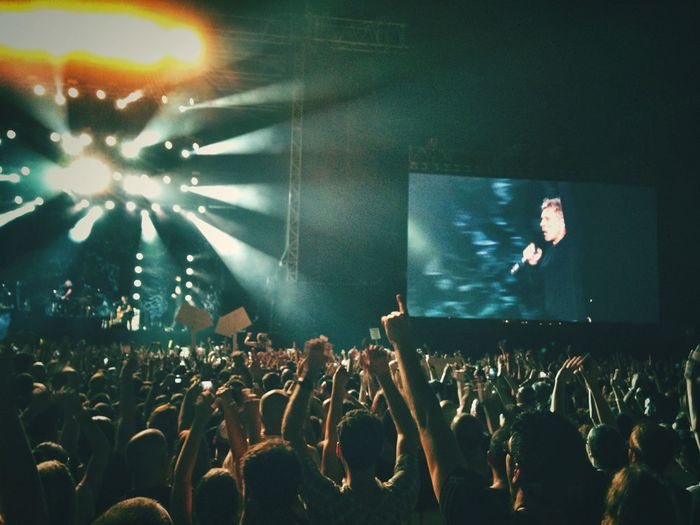 One in a lifetime experience at the amazing Bonjovi performance Concert Rock Telaviv