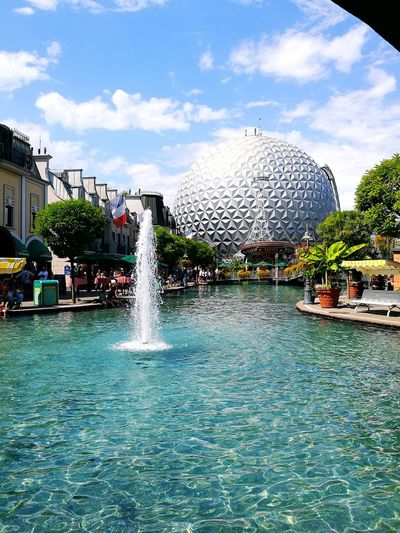 Europa Park 🎆 Water Summer Vacations Day Outdoors Sky Europapark Europapark Rust Europa-Park Eurosat Rust Beautiful View Travel Destinations Travel Funpark The Week On EyeEm Connected By Travel