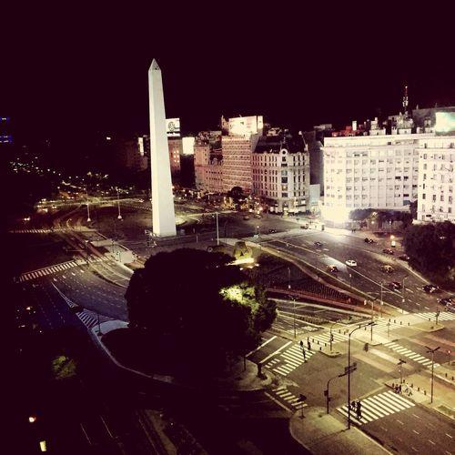 City Night Obelisco Building Exterior Buenos Aires First Eyeem Photo Neighborhood Map