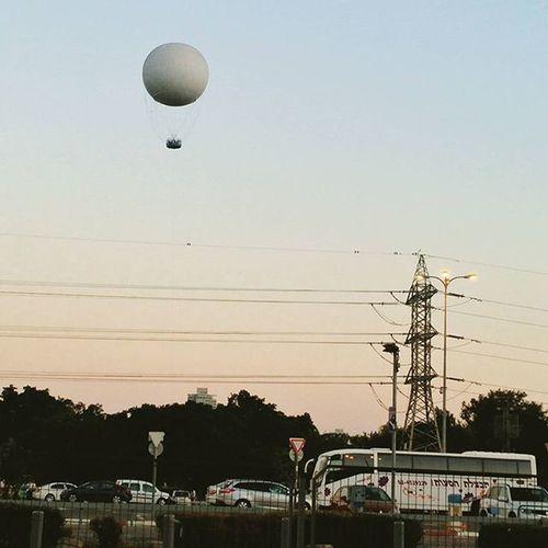 воздушный шар подорогедомой Israelinstagram Telaviv Instagram_israel_