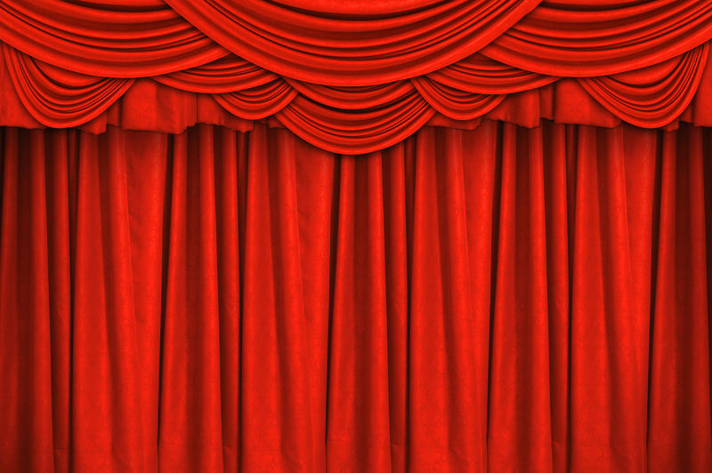 Red closed curtain on the stage for the background. Curtain Red Stage Background Curtains Theater Velvet Theatre Cinema Show Fabric Drapes  Entertainment Presentation Performance Light Spotlight Texture Event Concert Dark Art MOVIE Opéra Comedy Luxury Drama