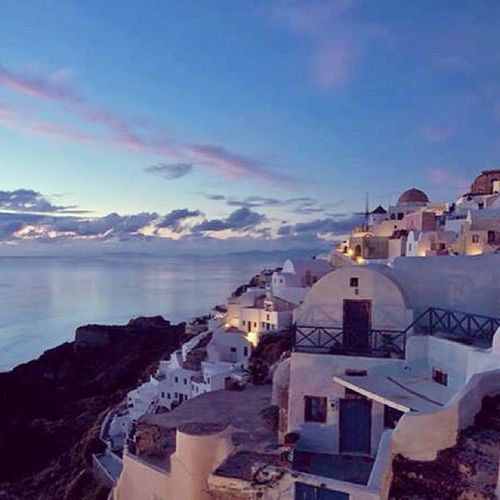 We'll be here soon enough my love... Honeymoon Trip Renewingourvows Married marriage vows santorrini santorrinigreece greece island whitehouses greek water wine travel