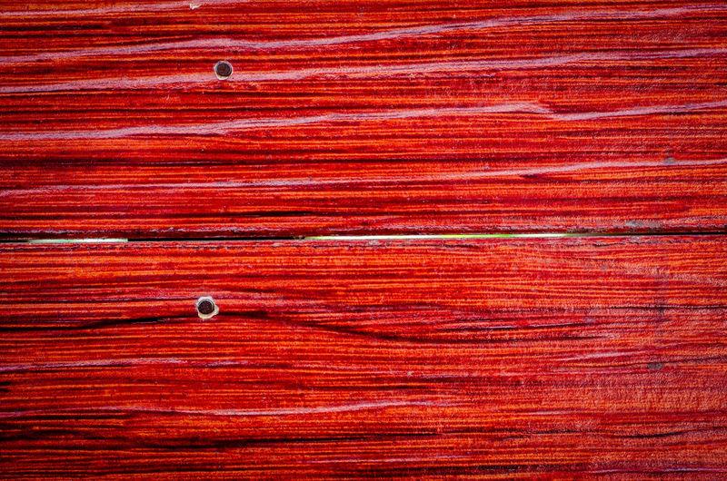 Full frame shot of red wooden door