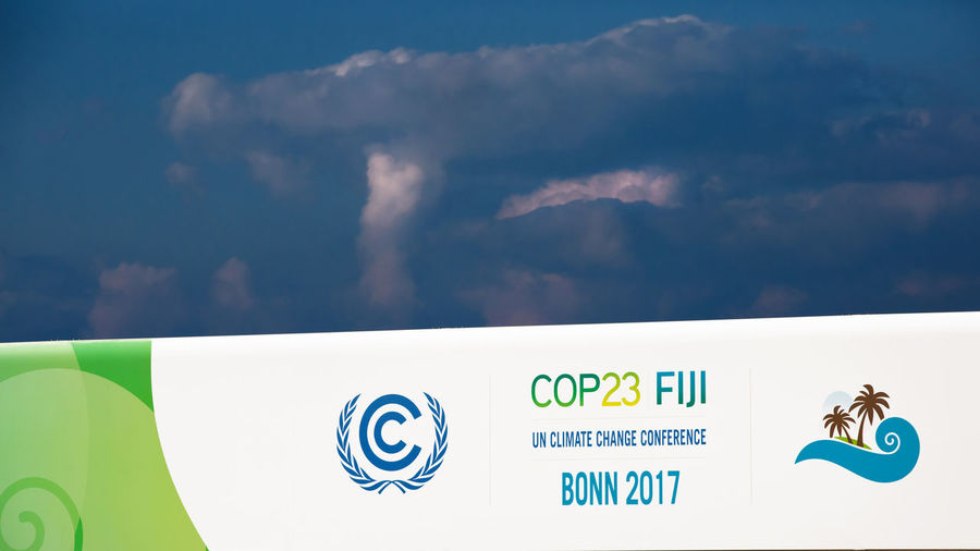 Bonn Bonn 2017 COP23 Climate Change Conference 2017 Event International Logo Politics UN United Nations Climate Climate Change Climate Change(global Warming) Cloud - Sky Communication Conference Day Display Germany No People Outdoors Sky Symbol Text Thunderstorm