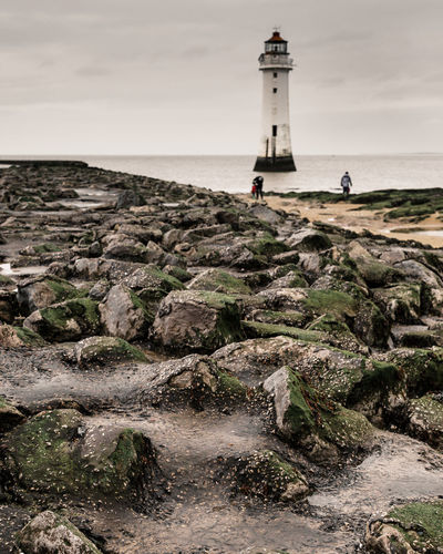 New Brighton Lighthouse EyeEmNewHere Architecture Beach Horizon Over Water Land Lighthouse Merseyside Nature Outdoors Scenics - Nature Sea Sky Water Wirral