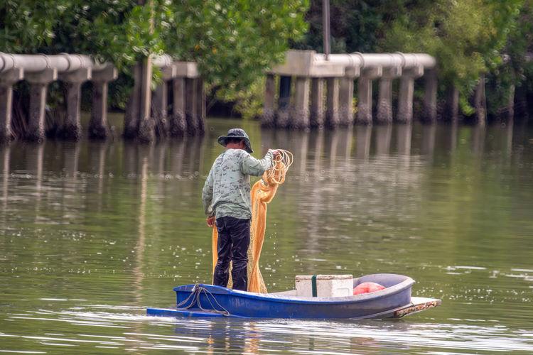 Fishermen are