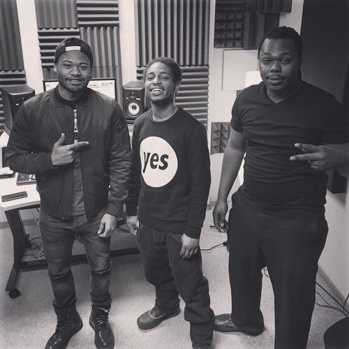 Me and my Brothers in the studio working on new music. Music Love EyeEm Best Shots Producer
