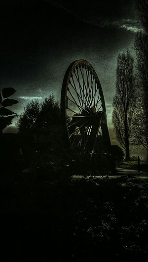 Darkness And Light Dark Photography Dark Edit Memorial Park Getting In Touch Miners Wheel Pit Wheel Hdr Edit Snapseed Editing  HTC_photography