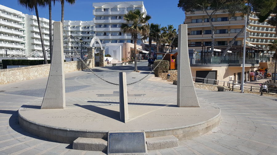 Sun Dial Sun Disc Sun Dial. Majorca Camp Da Mar Enjoying Life
