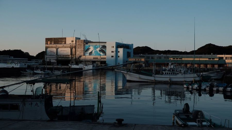 Morning Built Structure Architecture Building Exterior Reflection Water Moored Nautical Vessel