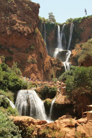 Ouzoud Falls Beauty In Nature Blurred Motion Day Flowing Flowing Water Forest Idyllic Morocco Motion Mountain Nature No People Non-urban Scene Outdoors Ouzoud Falls Plant Power In Nature Rock Rock Formation Scenics Tranquil Scene Tranquility Travel Destinations Water Waterfall