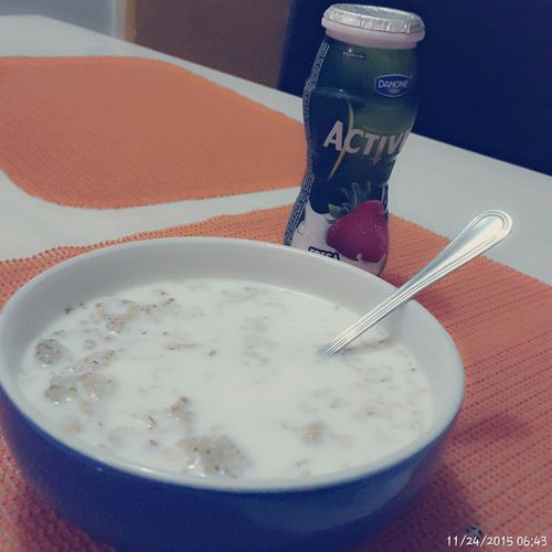 Good morning! Desayuno Diafrio ACTIVIA Cereal Chiispa Daytwo