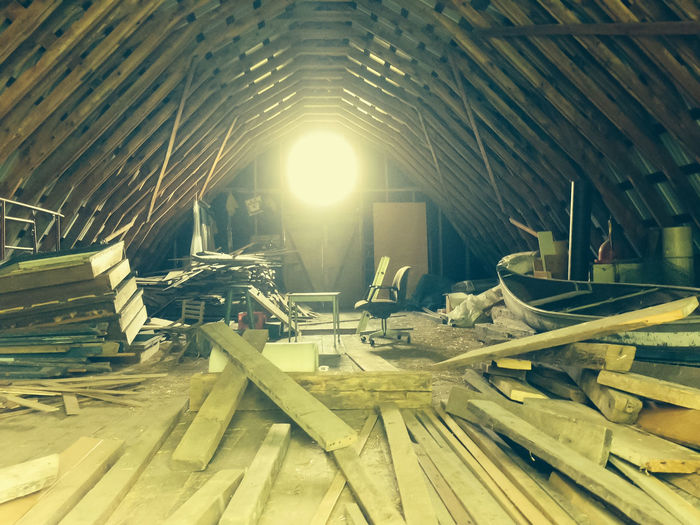Abandonned Architecture Barn Built Structure Day Indoors  Messy No People Sunlight Wood - Material