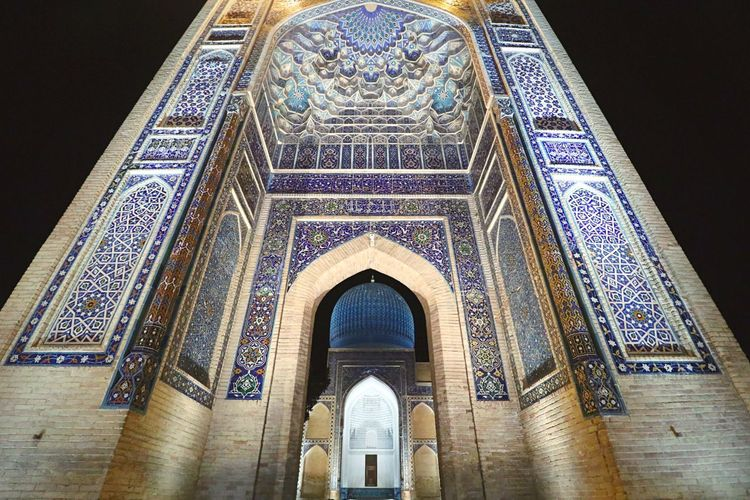 The Week On EyeEm Religion Place Of Worship Spirituality Arch Architecture Blue Samarkand Built Structure ASIA Silk Road Ancient Travel Destinations Uzbekistan Been There. EyeEm Gallery EyeEm Best Shots An Eye For Travel