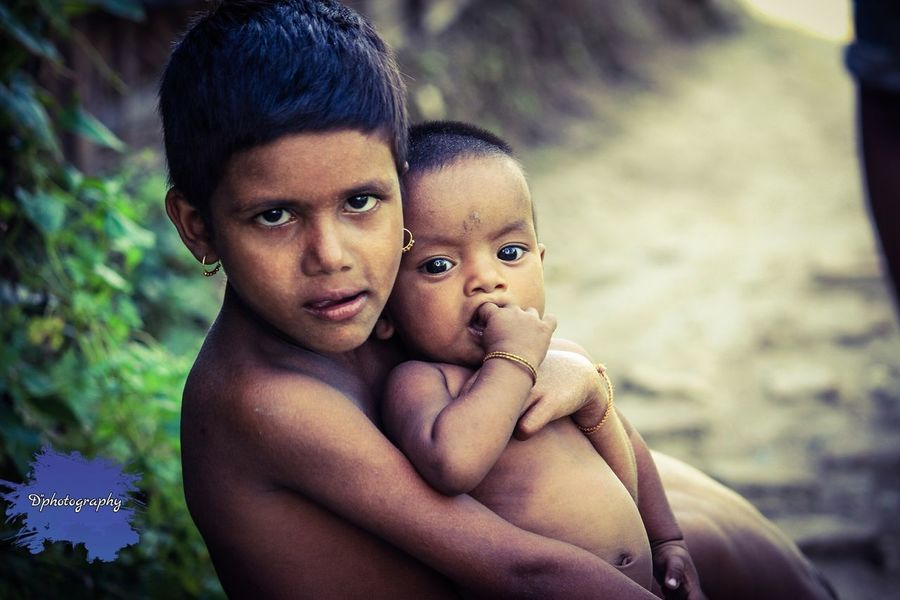 Poor Kids Child Love Baby Hope And Dream Living Life Careing